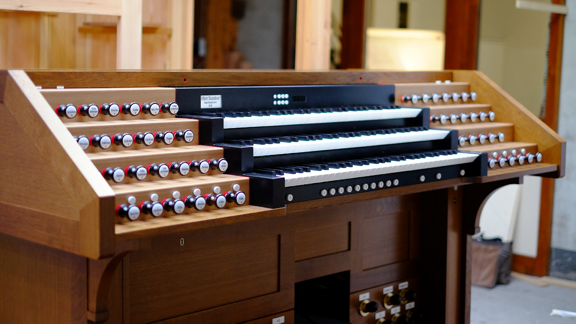 Spieltisch Lüdenscheid Baumhoer-Orgelbau