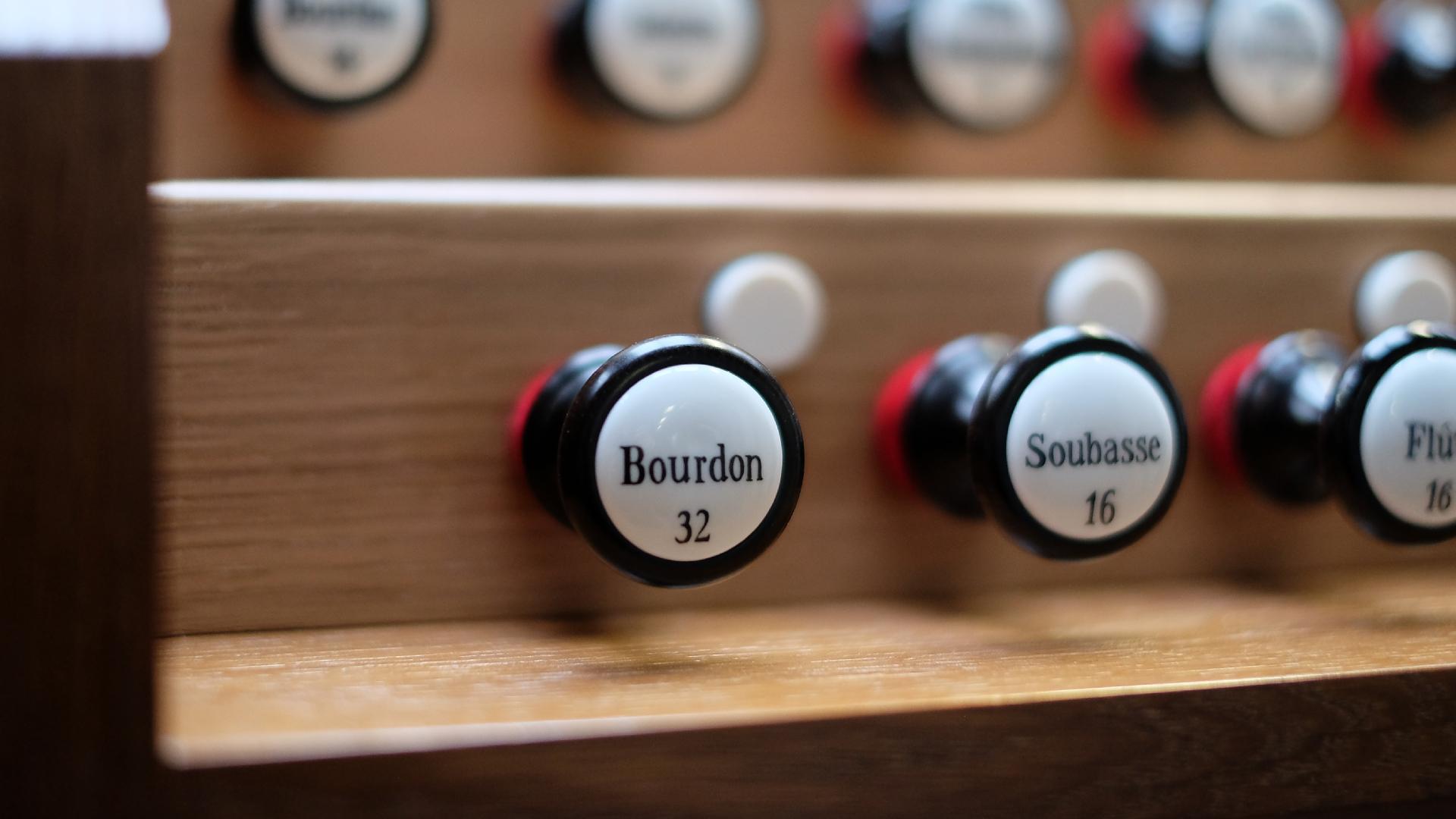 Bourdon 32' Manubrium Spieltisch Lüdenscheid